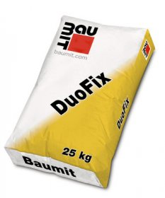 Klijai Baumit DuoFix, izoliacinių plokščių klijavimui, 25kg