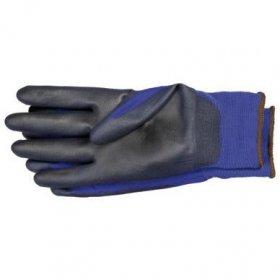 Pirštinės nailoninės gumuotos Storch, 10/XL, mėlynos (510702)