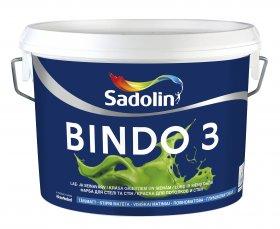 Dažai Sadolin BINDO 3, BW bazė (balta), 5 l