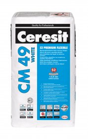 Klijai plytelėms Ceresit CM49 S2 Premium Flex White, 20kg