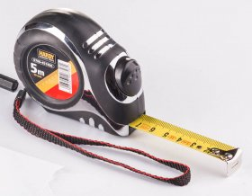 Ruletė juoda PRO, 5m x 19mm, (0700-451906)
