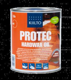 Alyva grindims Kiilto PROTEC HARDWAX OIL 1L