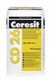 Mišinys Ceresit CD26 betono remontui 30-100mm, 25kg