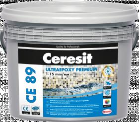 Glaistas-klijai Ceresit CE89 UltraEpoxy Smoked Topaz 859 2.5kg