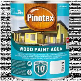Dažai Pinotex Wood Paint Aqua, BM bazė (tonuojama), 0.95 l