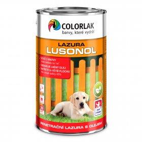 Lazūra Colorlak LUSONOL, baltas (0010), 0.9 l