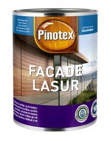 Impregnantas medienai Pinotex Facade Lasur, CLR bazė, 1 l