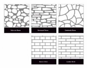 Tinkavimo forma Visage LONDON BRICK (15m²)