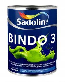 Dažai Sadolin BINDO 3, BW bazė (balta), 1 l