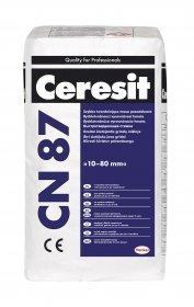 Mišinys Ceresit CN87 grindų lyginimui 10-80mm, 25kg