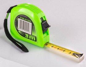 Ruletė žalia, 3m x 13mm, (0700-411203)
