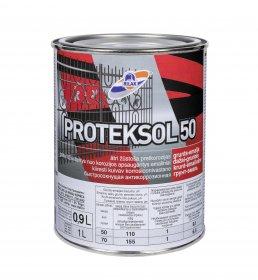 Gruntas-dažai Rilak PROTEKSOL-50, juodas, 0.9 l
