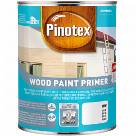 Gruntas medienai Wood Paint Primer, 2.5 l