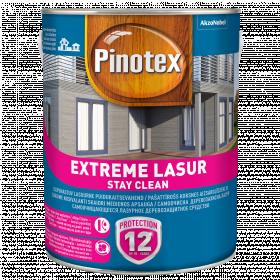 Impregnantas medienai Pinotex Extreme Lasur, timedžio sp., 3 l
