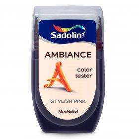 Spalvos testeris AMBIANCE, STYLISH PINK, 30 ml