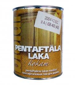 Pentaftalinis lakas medienai Biolar, 0.9 l