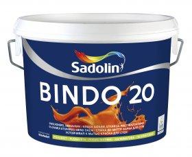 Dažai Sadolin BINDO 20, BW bazė (balta), 5 l