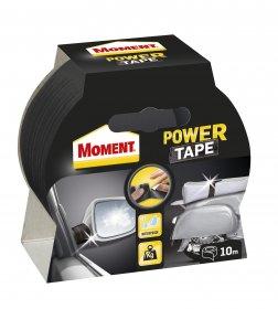 Juosta lipni Moment Power Tape, juoda, 10m
