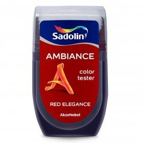 Spalvos testeris AMBIANCE, RED ELEGANCE, 30 ml