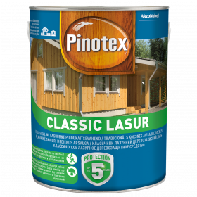 Pinotex Classic Lasur, palisandro medis, 3 l