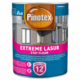 Impregnantas medienai Pinotex Extreme Lasur, purienos sp., 3 l