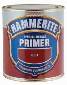 Gruntas HAMMERITE SPECIAL METALS PRIMER, raudonas, 2.5 l