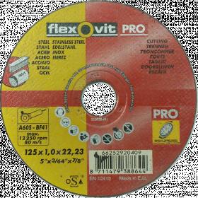 DAA Metalui 125x1.2x22 A54RBF F41 80m/s Luga 0110L