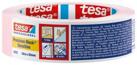 Dažymo juosta TESA, jautriems paviršiams, vidui 14d., 50mx25mm (04333)