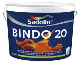 Dažai Sadolin BINDO 20, BW bazė (balta), 10 l
