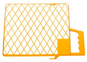 Grotelės dažytojo, 18x21 cm, plastikinės, (0145-462118)