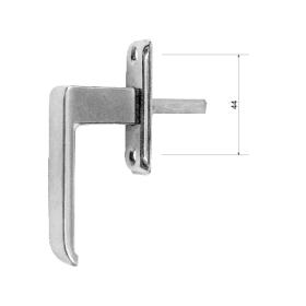 Langų rankenėlė 306/HP, cinkuota, be mechanizmo