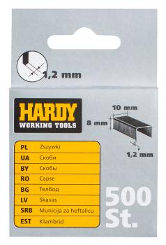 Kabės metalinės 10x8mm (2241-650008)