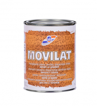 Dažai Rilak MOVILAT-25, bazė A, 0.9 l