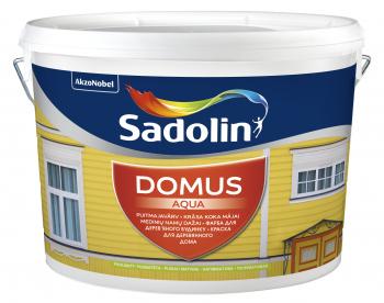 Dažai Sadolin DOMUS AQUA, BM bazė (tonuojami), 9.6 l