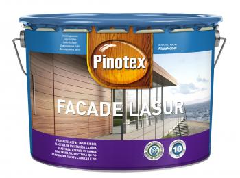 Impregnantas medienai Pinotex Facade Lasur, Nordic red sp., 10 l
