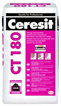 Mišinys Ceresit CT180 klijai mineralinei vatai, 25kg