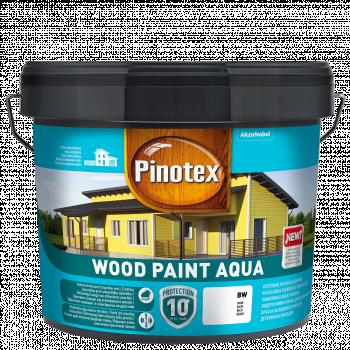 Dažai Pinotex Wood Paint Aqua, raudona sp., 9ltr