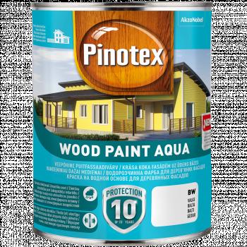 Dažai Pinotex Wood Paint Aqua, BW bazė, 1 l