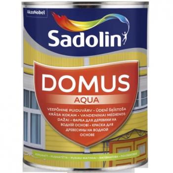 Dažai Sadolin DOMUS AQUA, BM bazė (tonuojami), 0.96 l