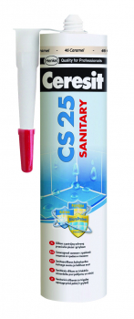 Silikonas Ceresit  CS25 Manhatan (10) 280ml