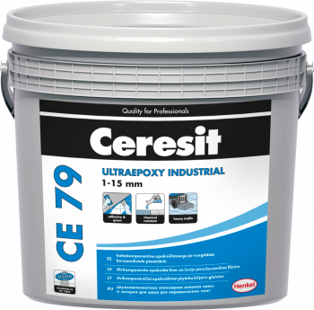 Glaistas-klijai Ceresit CE79 UltraEpoxy Industrial Light Gray 710 5kg
