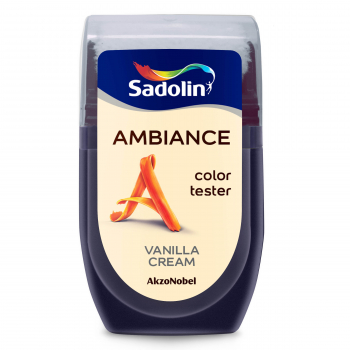 Dažų testeris AMBIANCE, VANILLA CREAM, 30 ml