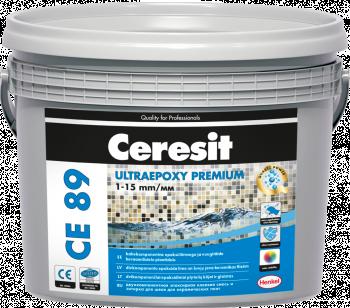Glaistas-klijai Ceresit CE89 UltraEpoxy Crystal White 801 2.5kg