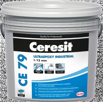 Glaistas-klijai Ceresit CE79 UltraEpoxy Industrial Graphite 716 5kg