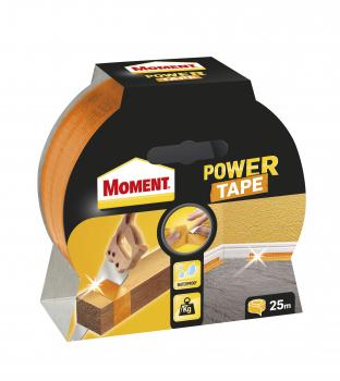 Juosta lipni Moment Power Tape, oranžinė, 25m