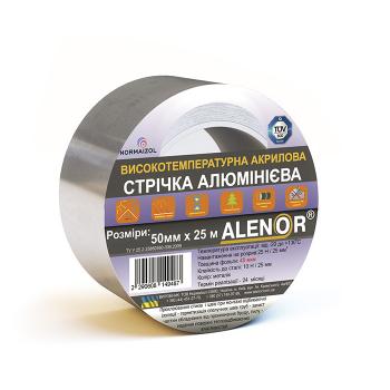 Juosta lipni aliuminė Alenor 50mmx40m, temparatūrinė (24)