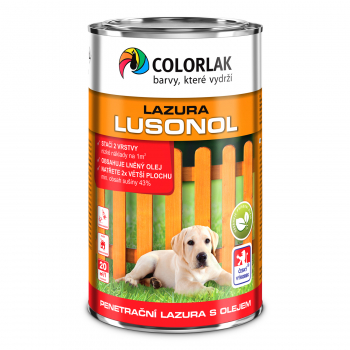Lazūra Colorlak LUSONOL, palisandras (0022), 8 l