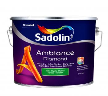 Dažai Sadolin AMBIANCE DIAMOND, BW bazė, 2,5 l
