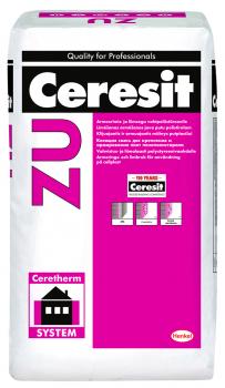 Mišinys Ceresit ZU, polistirolui klijuoti - armuoti, 25kg