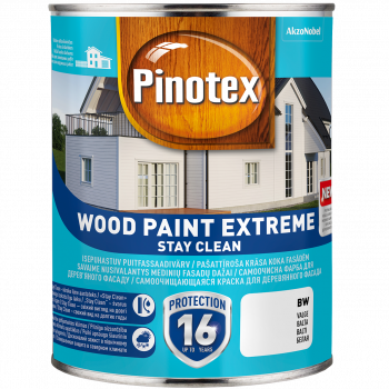 Dažai Pinotex Wood Paint Extreme, BC bazė, 2.35 l